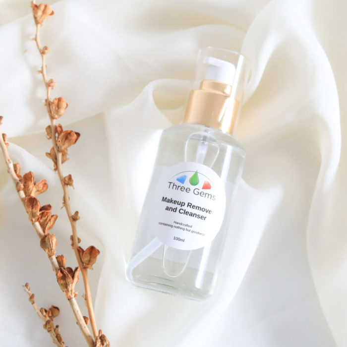 Three Gems Makeup Remover and Cleanser