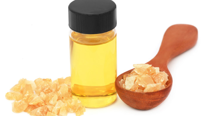 Frankincense oil and resin